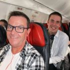 John Grehan & Alper Sean Hackett  taking to the skies with G Adventures & Turkish Airlines - all aboard