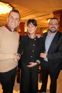 Steve, Suzanne and Antonio (Team MSC Ireland)
