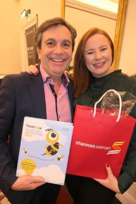 Declan Power (Shannon Airport) and Julieanne Curran (Turkish Airlines)
