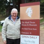 Gerry Benson (Publisher & Editor Travelbiz) at the Mark Twain House