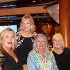 Emma Mc Hugh (Atlantic Travel), Deirdre Sweeney (Sunway), Bernie Burke (Travel Centres) and Jennifer Callister (RCCL)