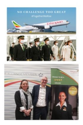 Ethiopian Airlines Group, Africa's largest carrier, has started operating flights with fully vaccinated crew against COVID-19 to keep travellers safe in light of the pandemic