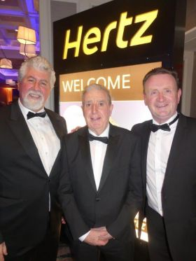 Dominic Burke (Travel Centres), Sean Power and Ian Manto (both Harvey Travel)