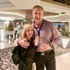 Sharon Harney (John Cassidy Travel) with the DON