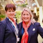 Suzanne Rowe and Alana Shannon Byrne (MSC Cruises).