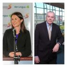 Mary Considine (Chief Executive Shannon Group) and Niall MacCarthy (Cork Airport Managing Director)
