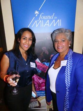 Vianny Mancebo (Hyatt Regency) with Cathy Rodriguez (The Biltmore)