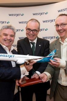 WestJet launches new Dublin - Calgary service
