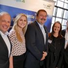 The award winning Aer Lingus Team launches Seattle