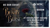 Beauty and The Beast - MSC style!