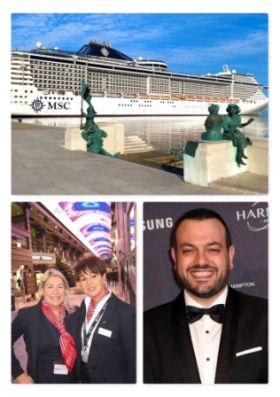 MSC Splendida at the weekend became the latest MSC Cruises ship to restart summer sailings