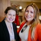 Lori John (US Embassy) with Colleen Butler (Bookabed.ie)
