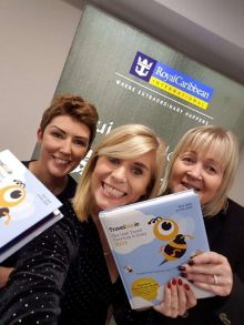 Fiona Flaherty (Fahy Travel Galway) is with Jennifer Callister (Head of Sales RCI Ireland) and Michelle Ryan (RCI Ireland)