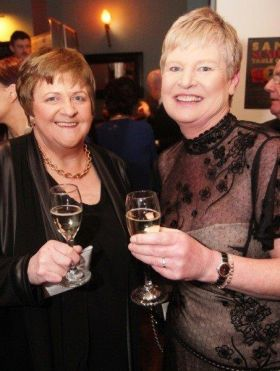 Marie and Frances at the ITIA Awards