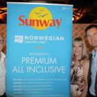 David Sanderson (BDM Scotland & Ireland NCL), Deidre Sweeney and Philip Airey (Sunway Holidays)