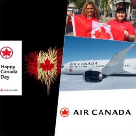 Travelbiz has teamed up with Air Canada to celebrate Canada Day!!!!