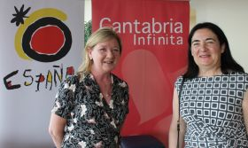 Kathryn MacDonnell and Teresa Gancedo (both Spanish Tourist Office Ireland).