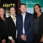 Garry Orr (Experience Kissimmee), Francine Sheridan (LA T&CB;), Jenny Rafter (Aer Lingus), Tony Lane (Visit USA), Hayley French (LA T&CB;) and Jason Kearns (Hertz)
