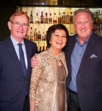 Maureen Ledwith and Edmund Hourican (Holiday World) with Don Shearer (Travelbiz.ie)