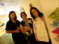 Tara, Sharon and Riona (Travelport) Sponsors of TIGS Captains day.