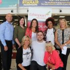 Alan Lynch (Travel Escapes), Lorraine Connolly (Kanes Travel), Isabel Russell (Freedom Travel), Meseret Tekalign (Ethiopian Airlines), Helen Kelly (Platinum Travel) Front Row - Michelle Lyons (Fahy Travel), Lorcan Keegan (Ethiopian Airlines) and Jacinta Mc Glynn (Travelbiz)