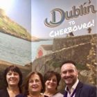 Irish Ferries team at WTM