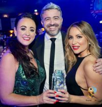 The award winning team at Bookabed.ie, Beverleigh Hart, Lee Osborne and Colleen Butler