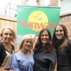 Andrea and Elaine (both TUI Travel Shops) with Deirdre Sweeney and Jeanette Taylor (Sunway)