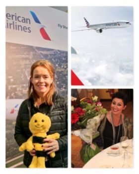 Caitriona Toner and Siobhan Bosket McGuigan (American Airlines)