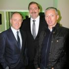 Tony Collins (MD Topflight) John Keogh (Head of Groups & Charters Aer Lingus) and Bob Haugh (The Travel Department)