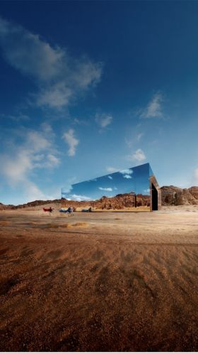 Maraya, the captivating mirrored concert hall in AlUla