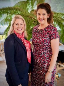 Alana Byrne (MSC Cruises) with the newest member of the Travel Counsellor Team, Melanie Morrissey