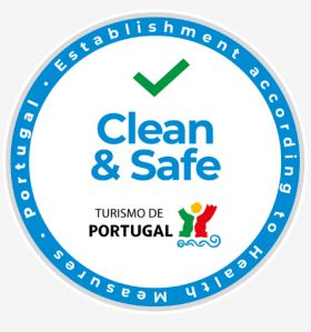 Algarve 'Clean & Safe' Stamp