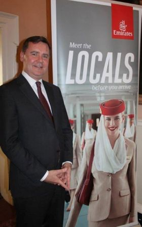 Enda Corneille (Country Manager Emirates)