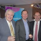 Gerry Benson (Travelbiz) with Rob Colledge (Amadeus) and John Cassidy (John Cassidy Travel)