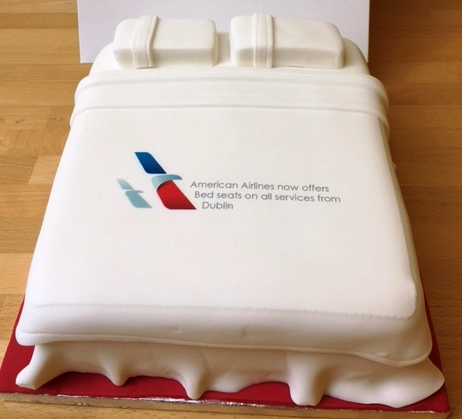American Airlines Flat Seat Cakes Irish Travel Trade